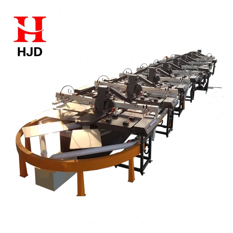 Oval Screen Printing Machine