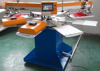 Round Shape Automatic Screen Printing Machine